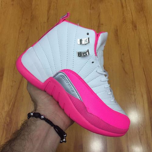botas nike jordan jumpman 23 blanco rosa mujer envio gratis