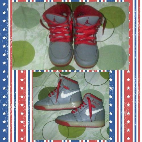 botas nike, jordán para niños