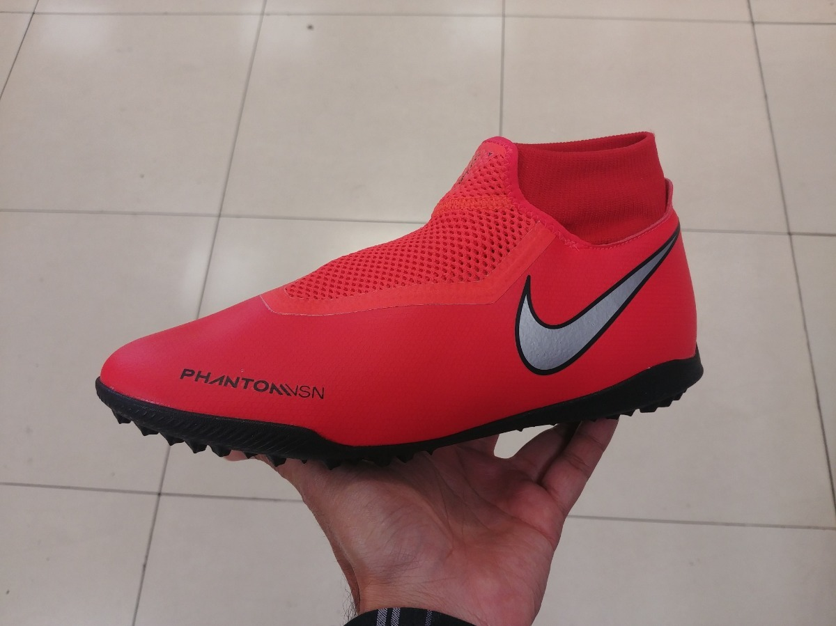 botas nike phantom academy turf rapido rojo original a meses. Cargando zoom. b33480c1b3bc9