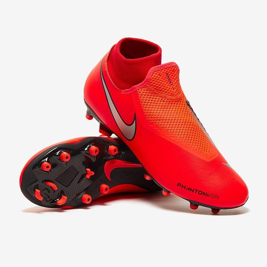Botas Nike Phantom Rojo Taquete Tachon 2019 Hombre Original ... 636a53620491e