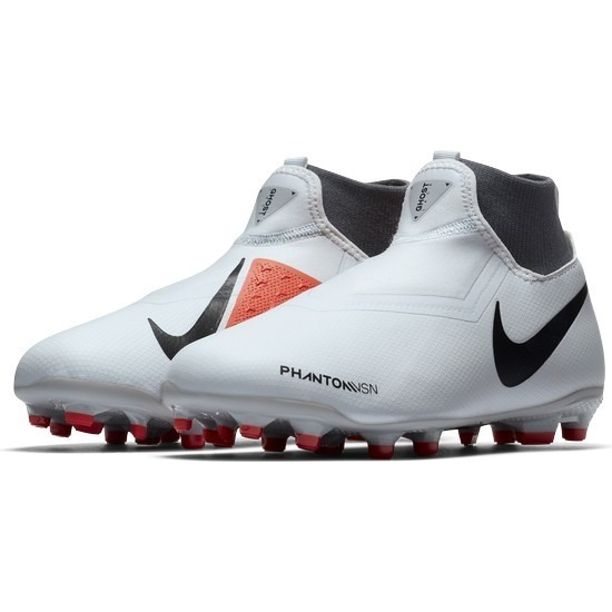 207e821a2bf1f Botas Nike Phantom Vision Academy Blanco Taquete Niño Futbol ...