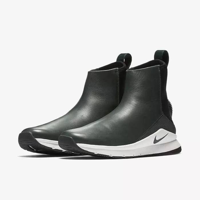 buy online 075f1 60680 botas nike rivah high premiumcueromujer2018verde oscuro