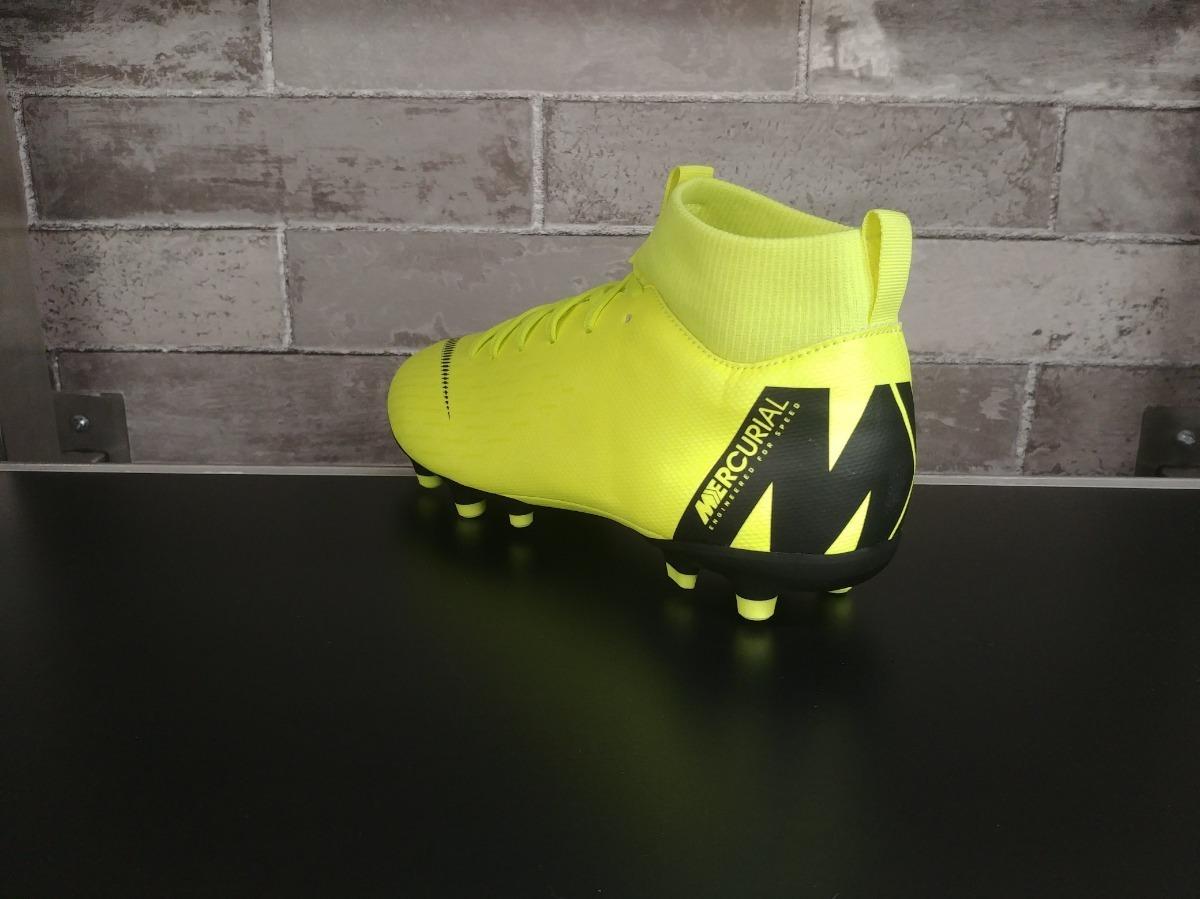 botas nike superfly academy niños verde neon taquete fut. Cargando zoom. 724cd062b0838