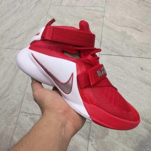 Botas Nike Zoom Lebron Soldier 9 Rojo Hombre 2017 Envio Grat ... eb2e38a42
