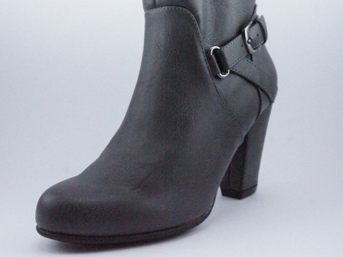 botas nine west - gris - dakota - 5 us