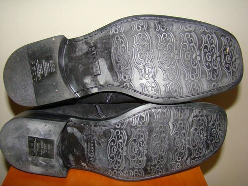 botas nuevas kenneth cole reaction en cuero  negro talla10,5
