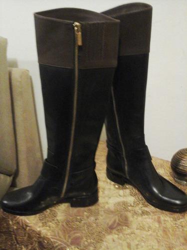 botas original talla 5, michael kors usd 250 negro/cafe