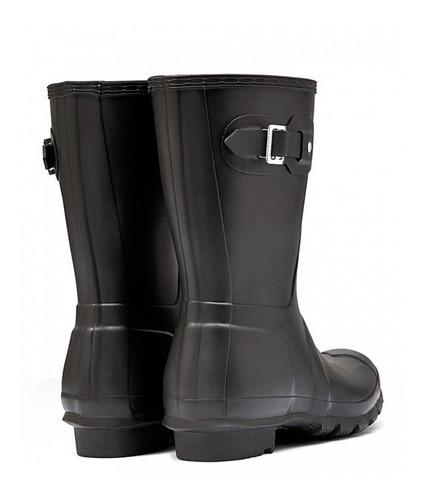 botas para agua hunter cortas negras (envio gratis)