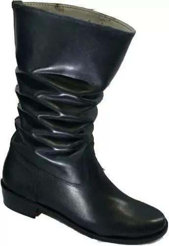 botas para bailar folklore, cuero genuino taco bajo