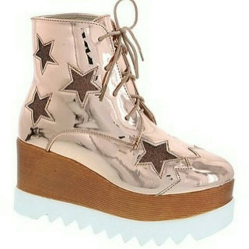 botas para damas oxford