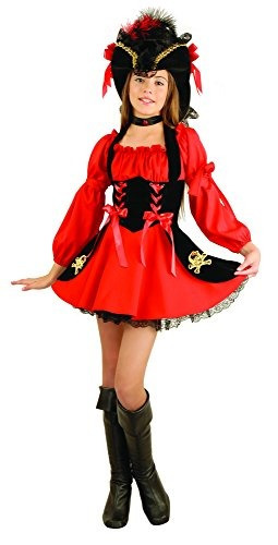 botas para disfraz de niña pirata de charades, pequeñas / me