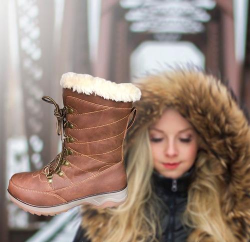 botas  para la nieve mujer invierno  chiporro frió agta