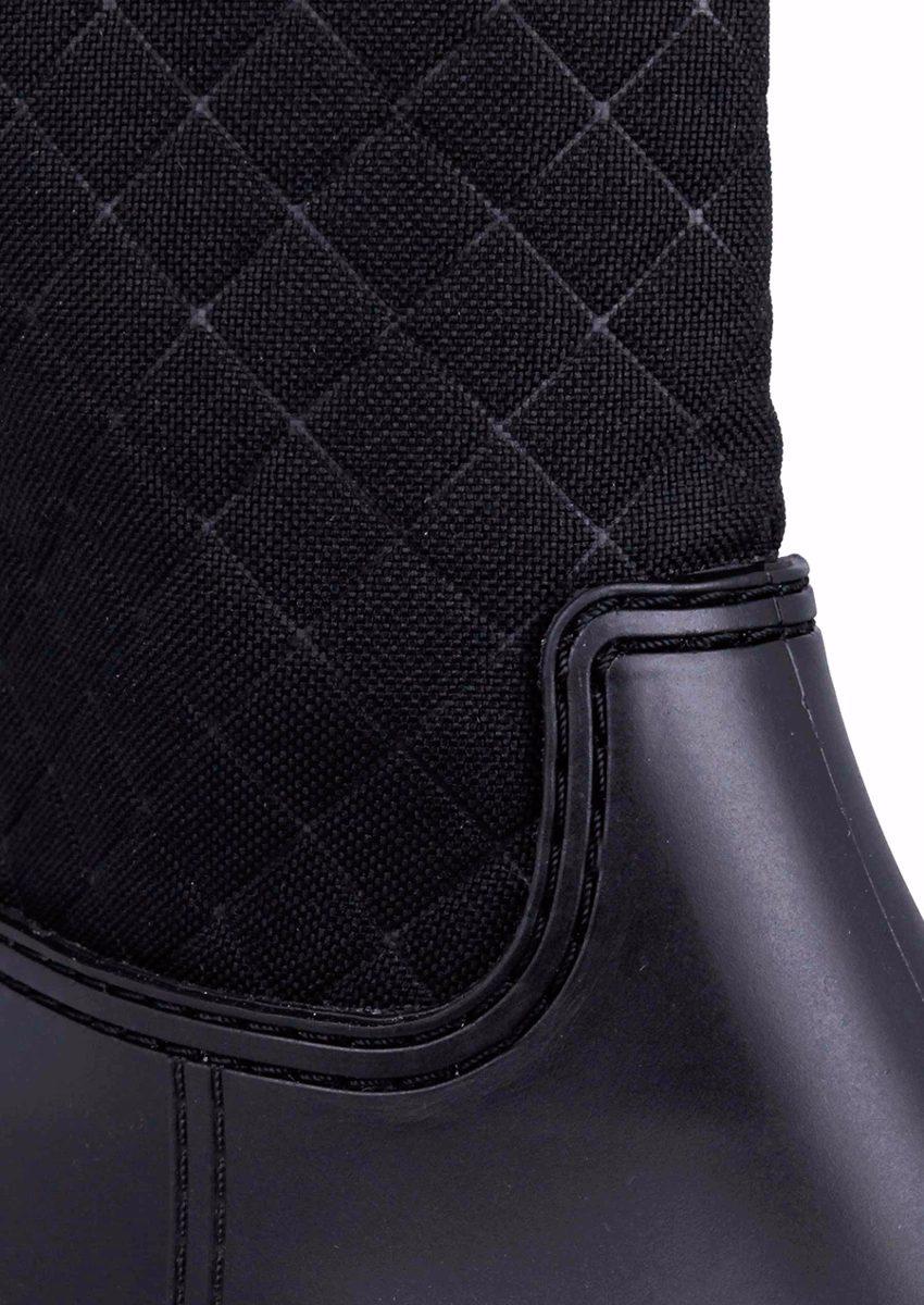 917b0337e047d botas para lluvia andrea negras diseño acolchado 2558 sh+. Cargando zoom.