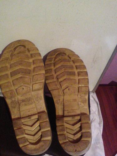 botas para lluvia, duramil t. 25