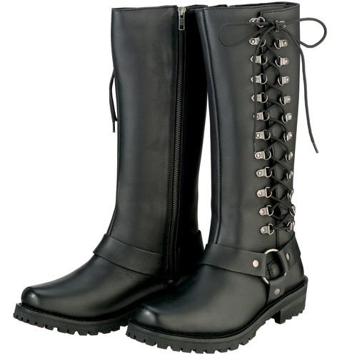 botas para montar z1r savage para mujer negro talla 7.5