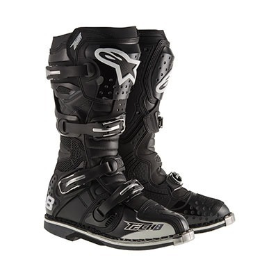 botas para motocross tech 8 rs alpinestars - moto enduro