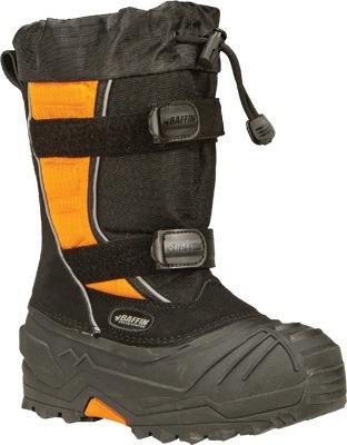 botas para motonieve baffin eiger juvenil negras/naranjas 4