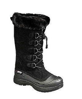 botas para motonieve baffin judy p/mujer negro talla 7