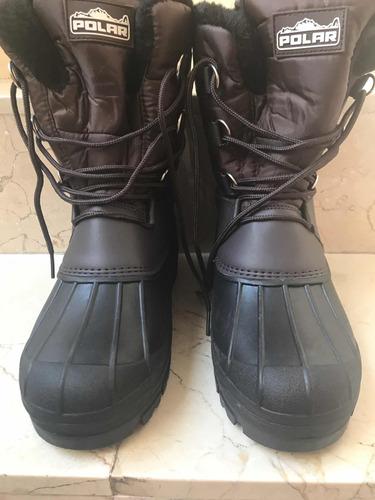 botas para nieve hombre 26cm