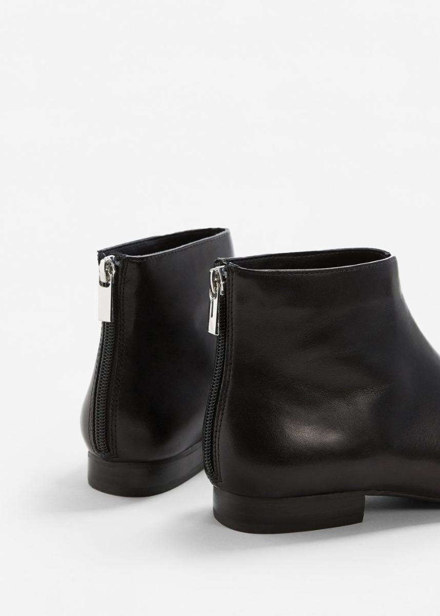 50c86b46e botas planas cortas negras importadas mango españa. Cargando zoom.