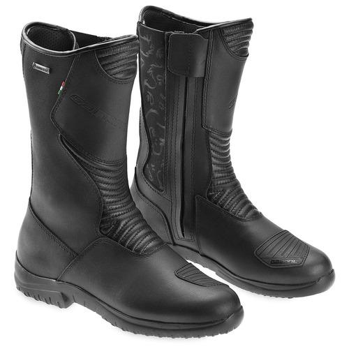 botas p/motocicleta gaerne p/mujer de gore-tex negro 9 usa