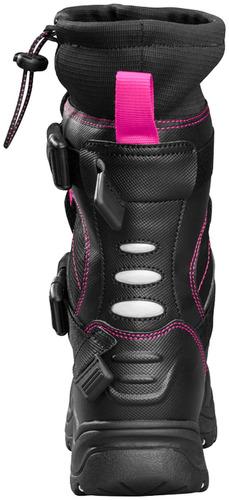 botas p/motonieve castle x racewear barrier 2 mujer magent 9