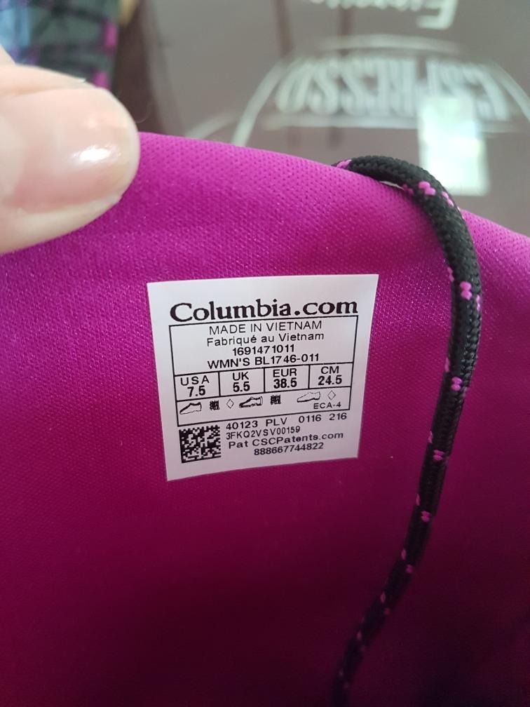7 5 Botas 800 Mujer Columbia Waterproof 24 Ski Pre 5 Cm2 00 Us zUVpqSMG