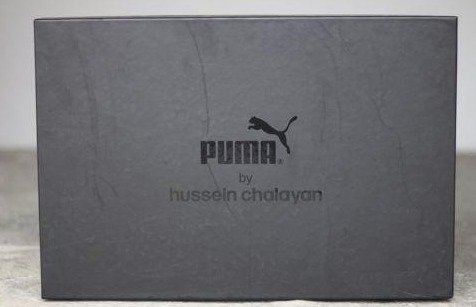 botas puma hussein chalayan 'strelka' gris