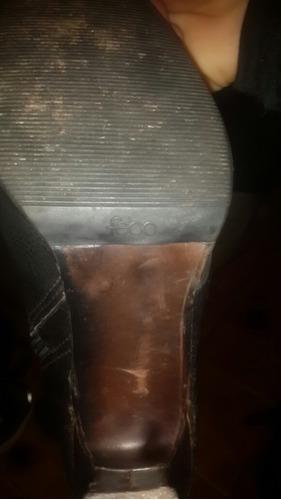 botas punta dama