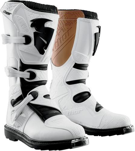 botas p/vehículo todoterreno thor blitz 2015 blanco talla 15