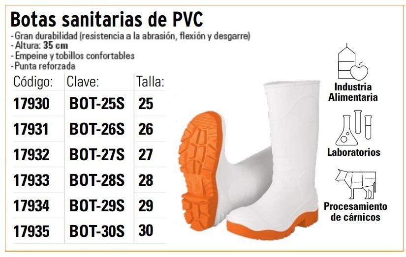 22dc8286fb200 Botas Sanitarias De Pvc Truper -   217.00 en Mercado Libre