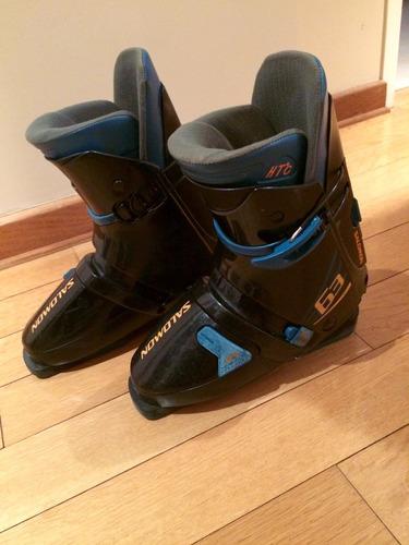 botas ski salomon 63. made in france. 335/26.5