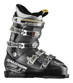 Botas Ski Salomon Idol 8 Flex 80 3 Dias De Uso Cms 25 Us7 39