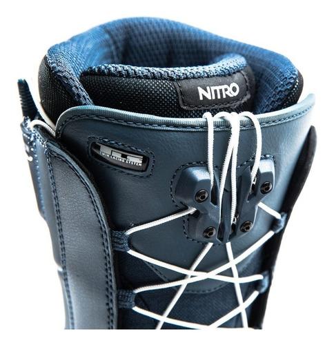 botas snowboard nitro anthem tls azul