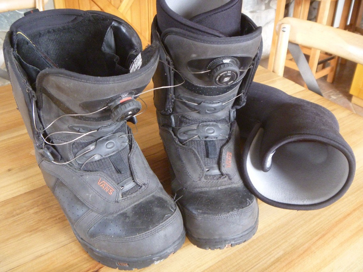 botas snowboard hombre vans