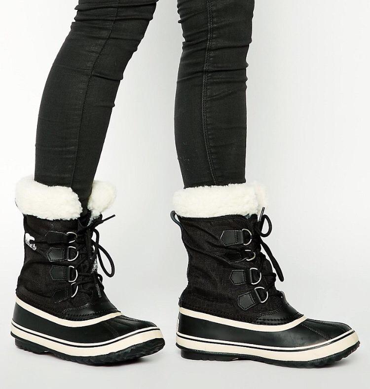 botas sorel mujer