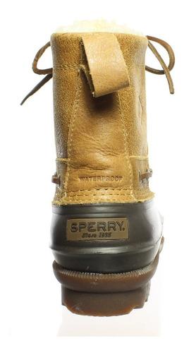 botas sperry top sider decoy shearling