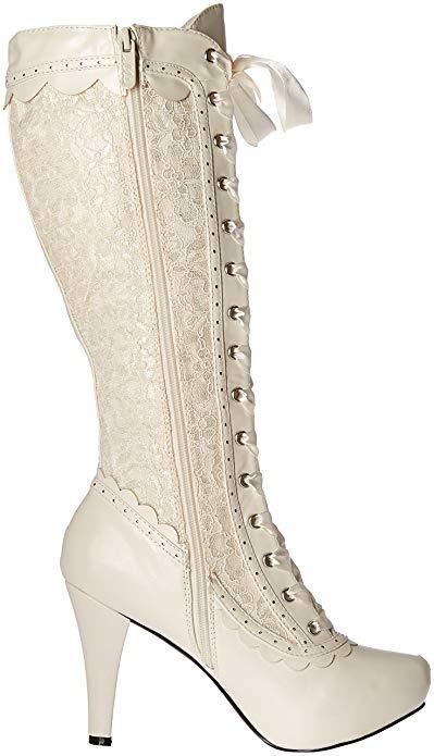 Botas victorianas de encaje para De mujer | eBay