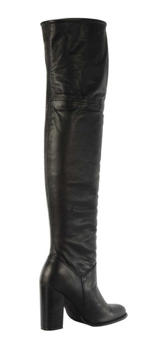 botas stivali ariana cuero negro