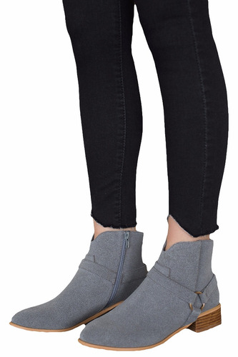 botas synergy  rebel boots gris 1571-4