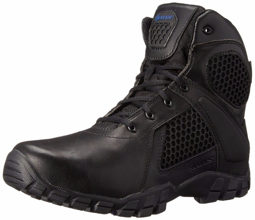botas tacticas bates men's 6 inch strike side zip waterproof