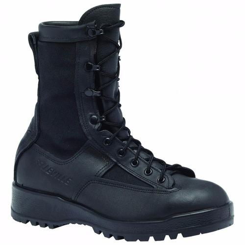 botas tacticas belleville waterproof black combat & flight