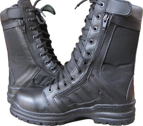 botas tacticas militares policiaca swat kaki negra ligera