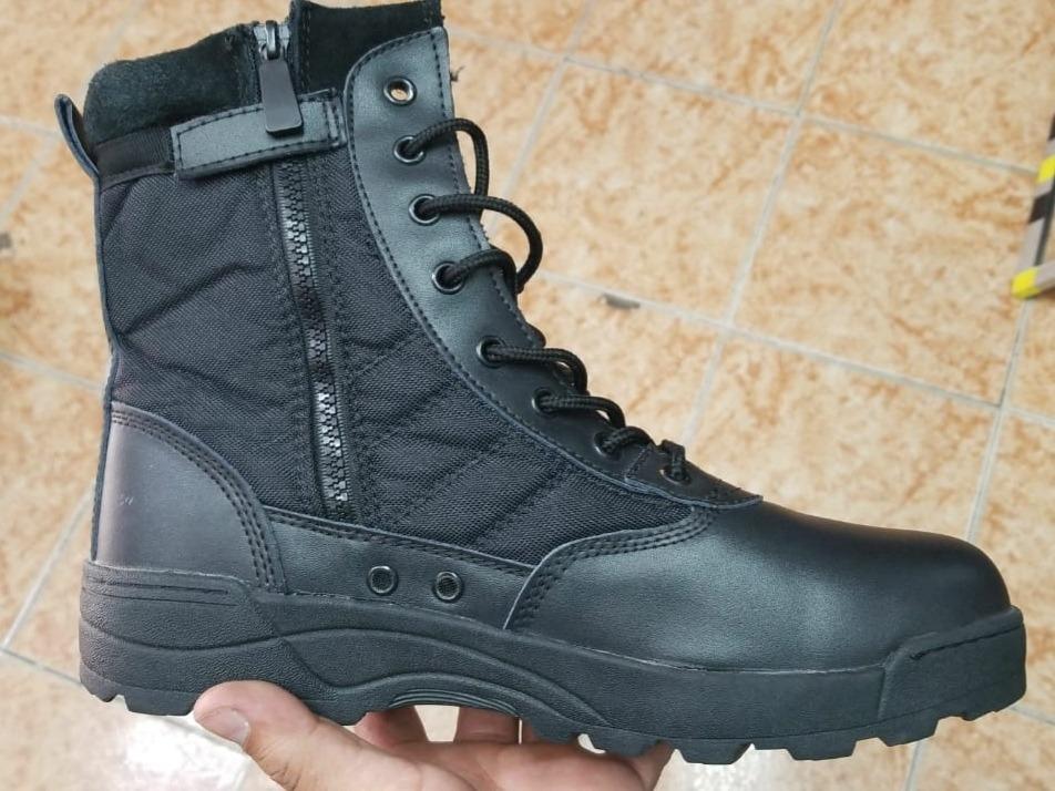 primer nivel gran variedad de estilos a pies en Botas Tácticas Militares Swat Color Negras Impirtadas
