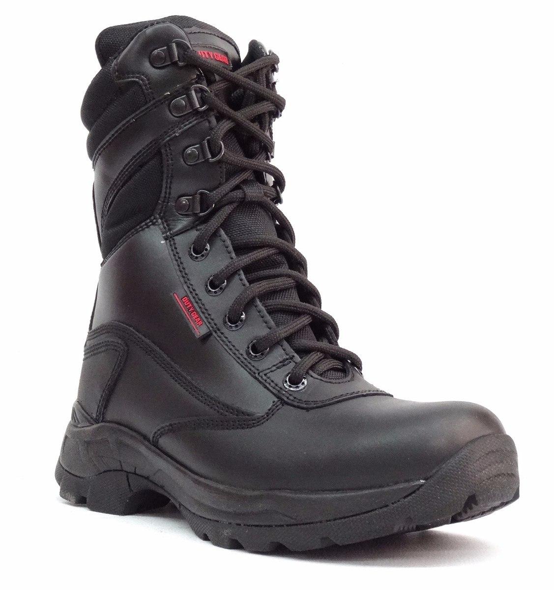 policía botas
