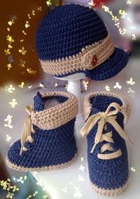80a8769c Gorro Malefica Tejido A Mano Amigurumimania - Ropa para Bebés Azul ...