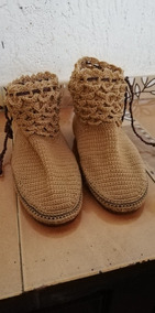 Collares Tejidos Para Damas Zapatos Mujer Botas en Mercado