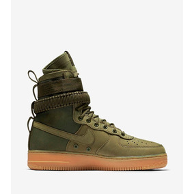 Force Special One Air Nike Field Botas Green Af1 wnOmNv80