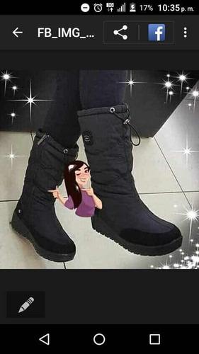 botas térmicas impermeables talla 36