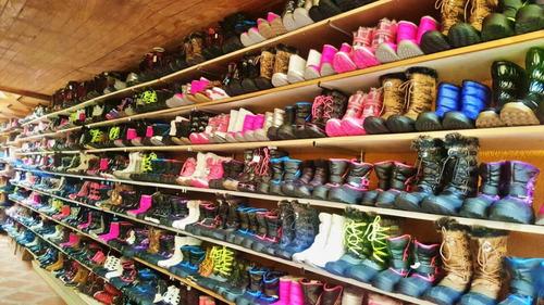 botas termicas para la lluvia nieve y frio